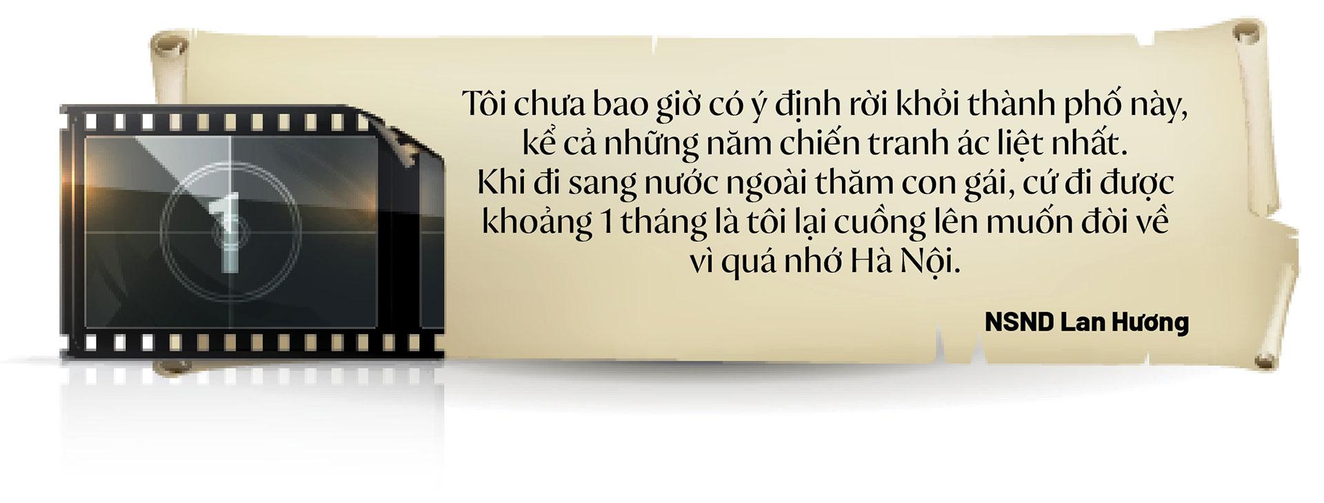 NSND Lan Hương: Tôi chưa bao giờ nghĩ, mình có thể rời xa được Hà Nội  - Ảnh 2.