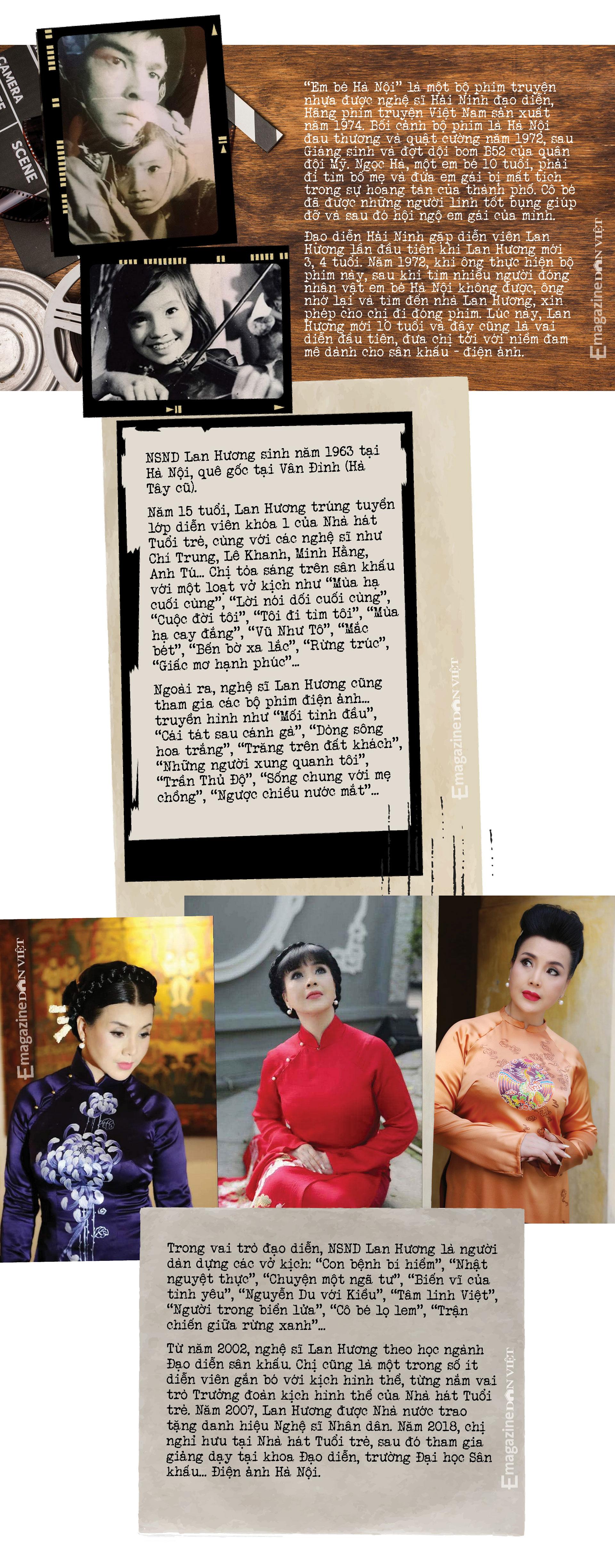 NSND Lan Hương: Tôi chưa bao giờ nghĩ, mình có thể rời xa được Hà Nội  - Ảnh 17.