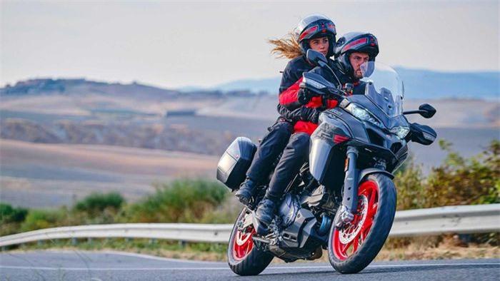"""Ducati Multistrada V2 2022 vừa """"trình làng"""" có điểm gì đáng chú ý? - Ảnh 2."""