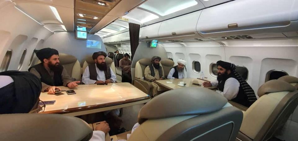 Mỹ nói gì sau cuộc gặp mặt chính thức đầu tiên với Taliban? - Ảnh 1.