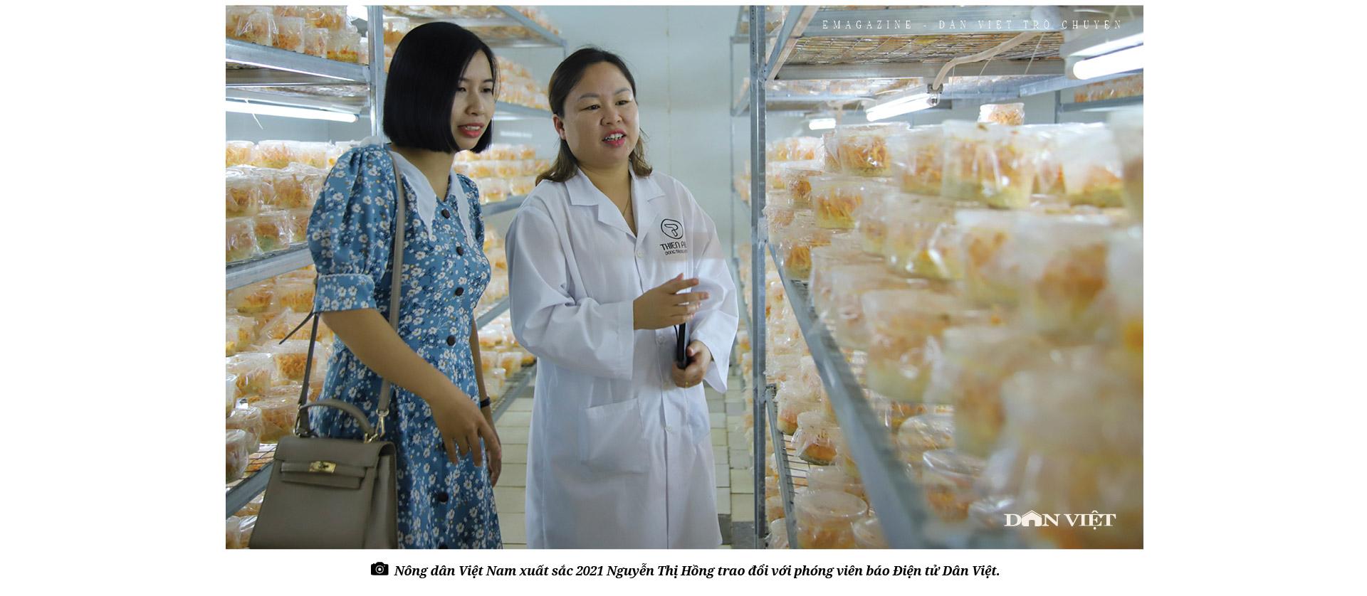 """Tỷ phú Nông dân Việt Nam xuất sắc 2021 Nguyễn Thị Hồng: Hành trình chinh phục  """"vàng mềm"""" siêu đắt đỏ  - Ảnh 1."""