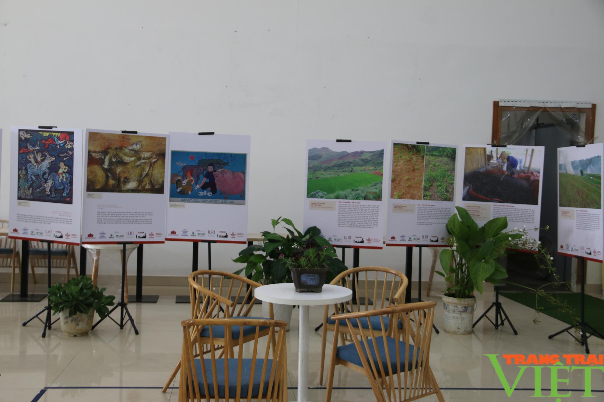 Khai mạc triển lãm chăn nuôi dưới góc nhìn của nghệ sĩ và nông dân  - Ảnh 6.