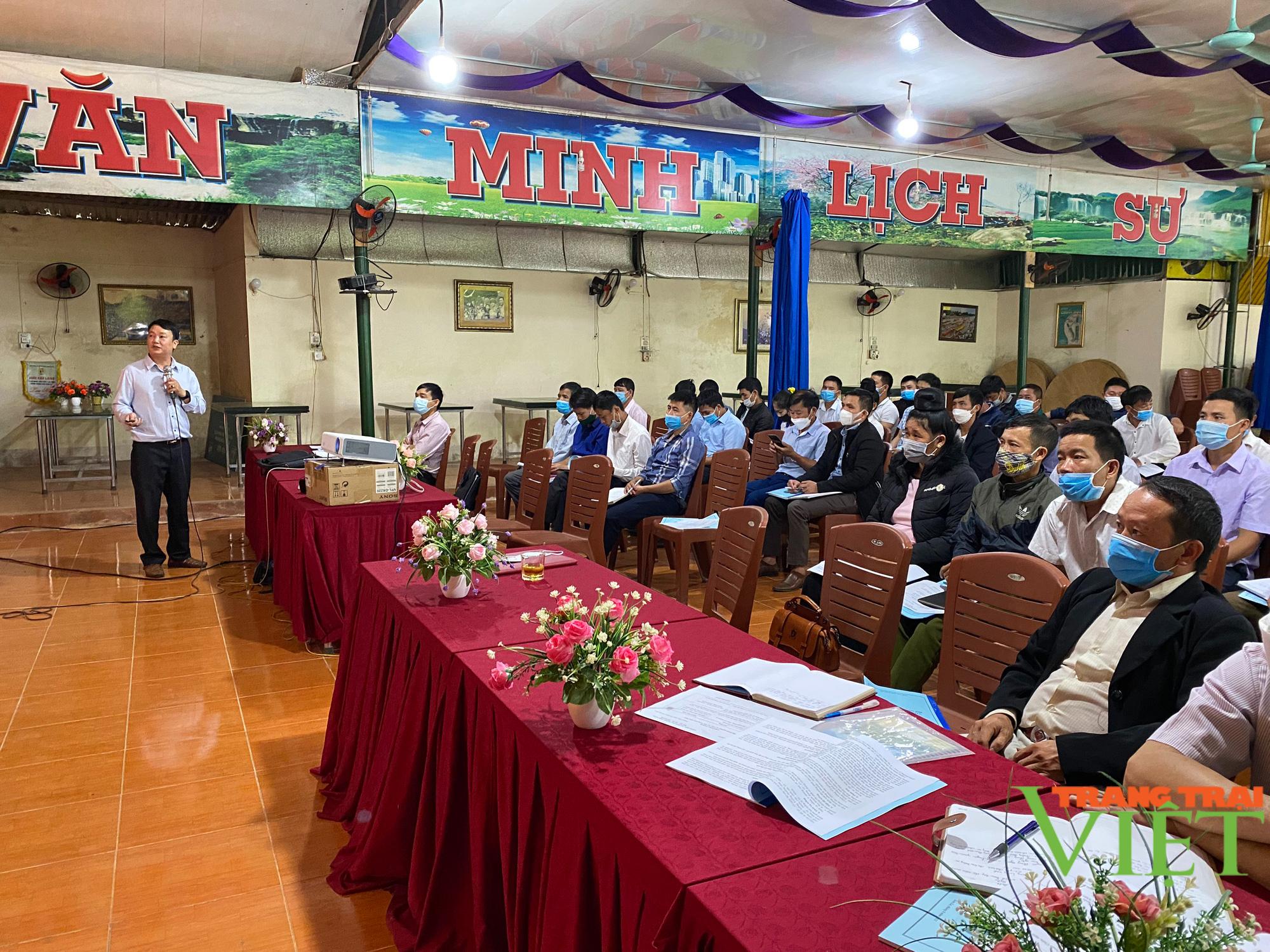 Thuận Châu: Nâng cao năng lực cho cán bộ làm công tác hội và phong trào nông dân  - Ảnh 1.