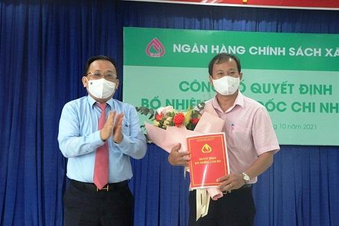 Khánh Hòa: Có Giám đốc NHCSXH mới - Ảnh 1.