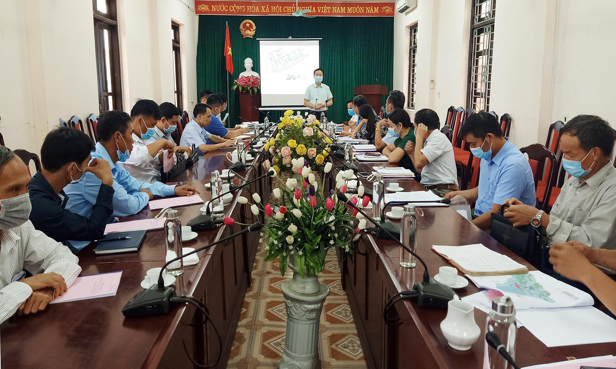 Thái Nguyên công bố quy hoạch cụm công nghiệp Yên Lạc với tổng vốn đầu tư trên 225 tỷ đồng - Ảnh 1.
