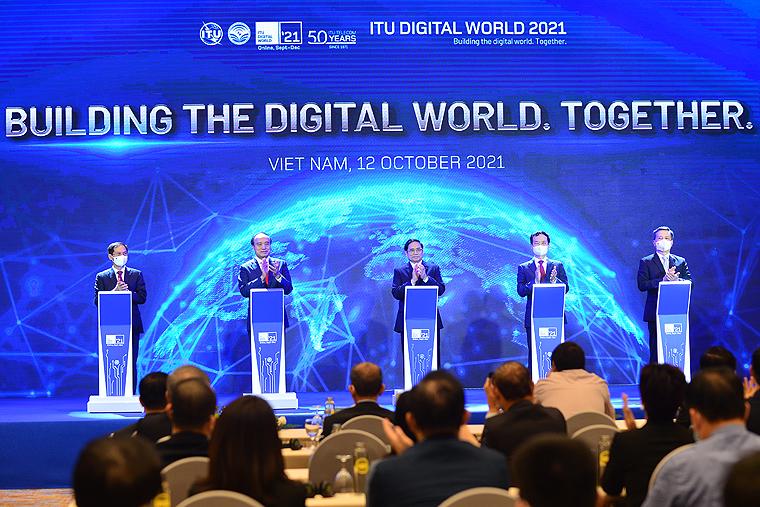 Khai mạc Hội nghị và Triển lãm Thế giới số 2021 - Ảnh 4.