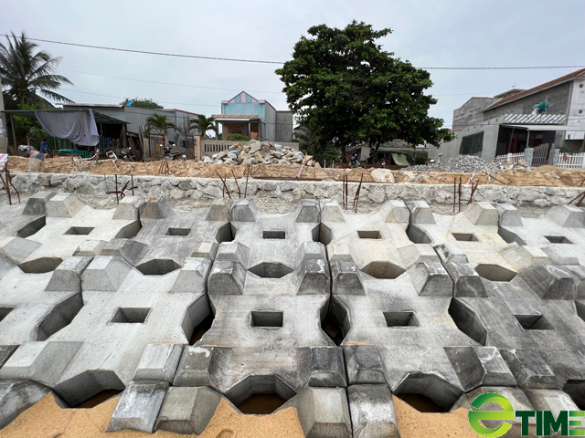 Quảng Ngãi: Hàng trăm hộ dân Sa Huỳnh không còn lo bị sóng cuốn nhà ra biển  - Ảnh 4.