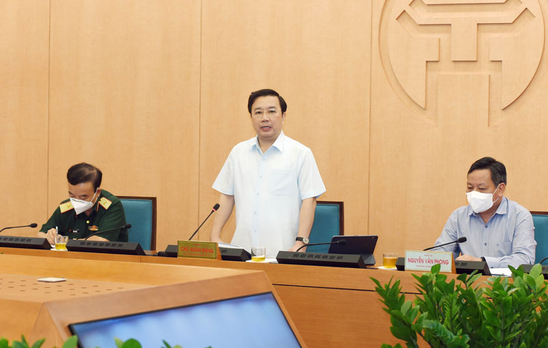 """Hà Nội """"họp khẩn"""" sau khi Chủ tịch Chu Ngọc Anh có công điện hỏa tốc mở lại nhiều hoạt động - Ảnh 1."""