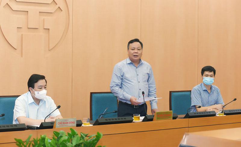 """Hà Nội """"họp khẩn"""" sau khi Chủ tịch Chu Ngọc Anh có công điện hỏa tốc mở lại nhiều hoạt động - Ảnh 2."""