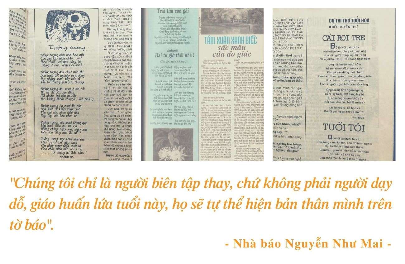 base64 1634270445963147587720 NB Nguyễn Như Mai: Từ cậu bé hỏng một bên tai tới bố Mai nổi tiếng của báo Hoa học trò