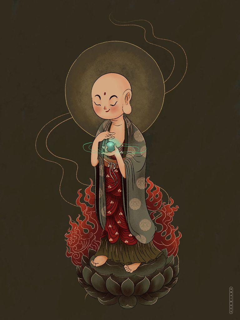 Brain Huy - Người vẽ đạo Bụt với phong cách thiếu nhi - Ảnh 13.