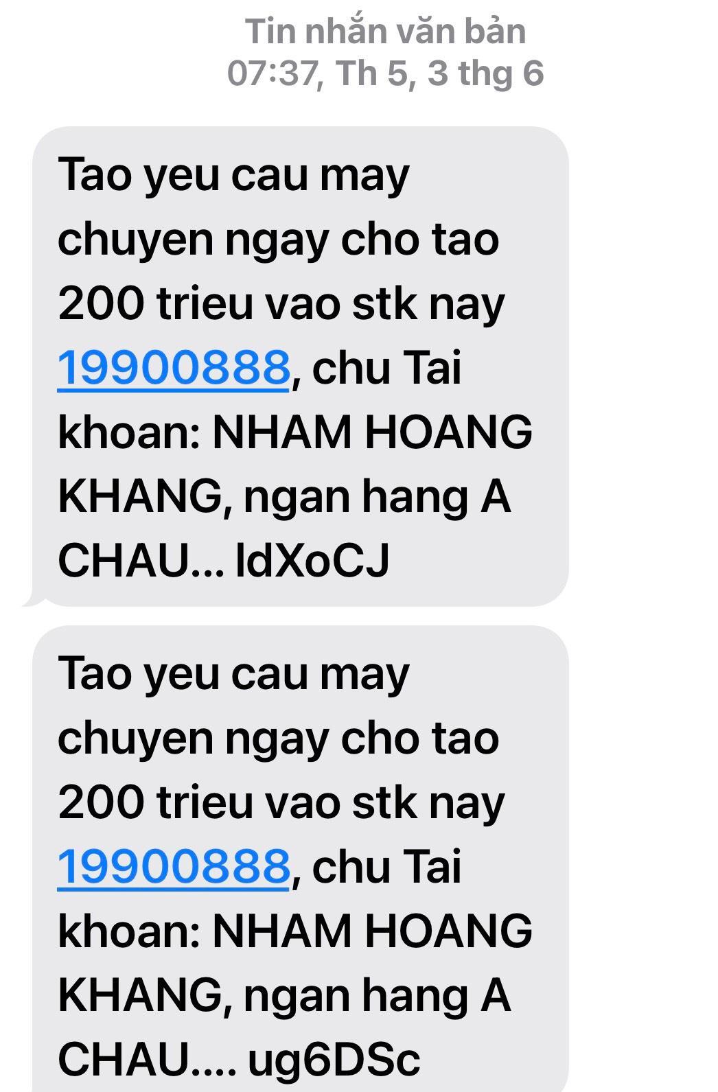 photo 1633408881748 163340888207413772480 Nếu bị kết án về hành vi tống tiền, Nhâm Hoàng Khang có thể bị phạt tù tới 20 năm