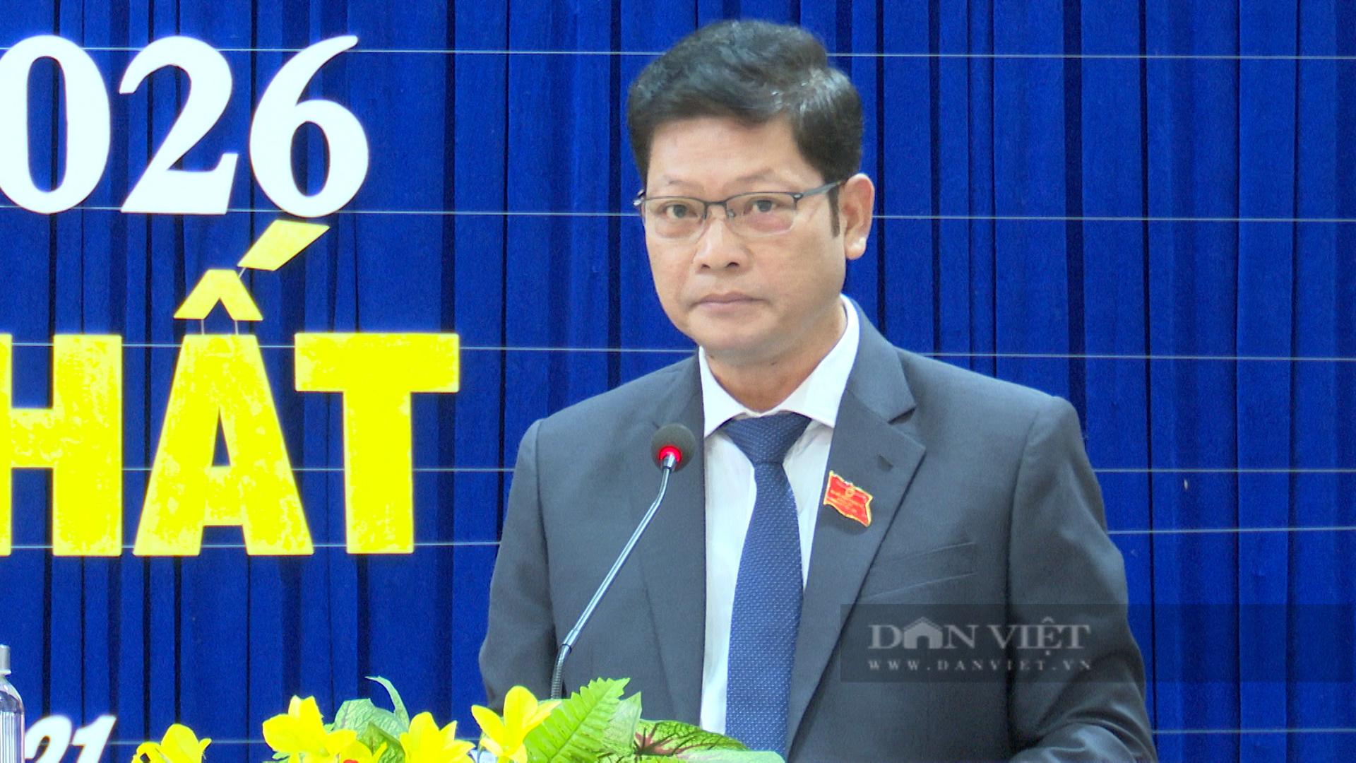 Tân Chủ tịch UBND TP Đông Hà Hồ Sỹ Trung. Ảnh: N.V