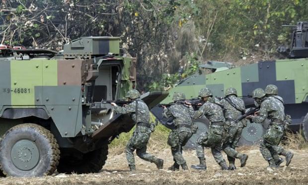 Lính thủy đánh bộ, đặc nhiệm Mỹ bí mật huấn luyện quân sự ở Đài Loan