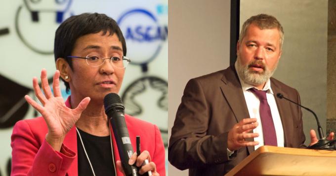 2 nhà báo Nga, Philipines đoạt giải Nobel Hòa bình 2021