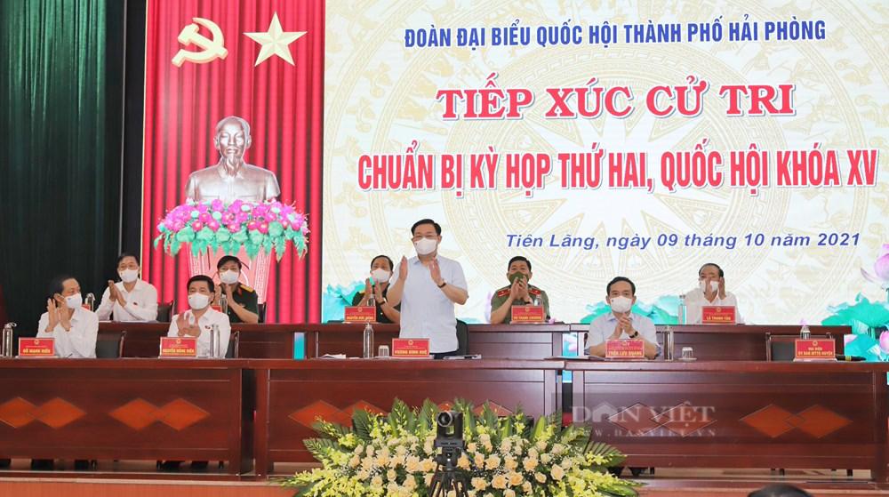 """Chủ tịch Quốc hội: Hải Phòng kiên cường giữ vững """"thành trì"""", vừa chống dịch hiệu quả, vừa phát triển kinh tế"""