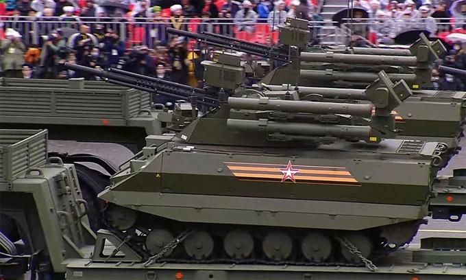 Chiêm ngưỡng dàn vũ khí hiện đại tại Lễ duyệt binh mừng 76 năm đánh bại phát xít - Ảnh 6.
