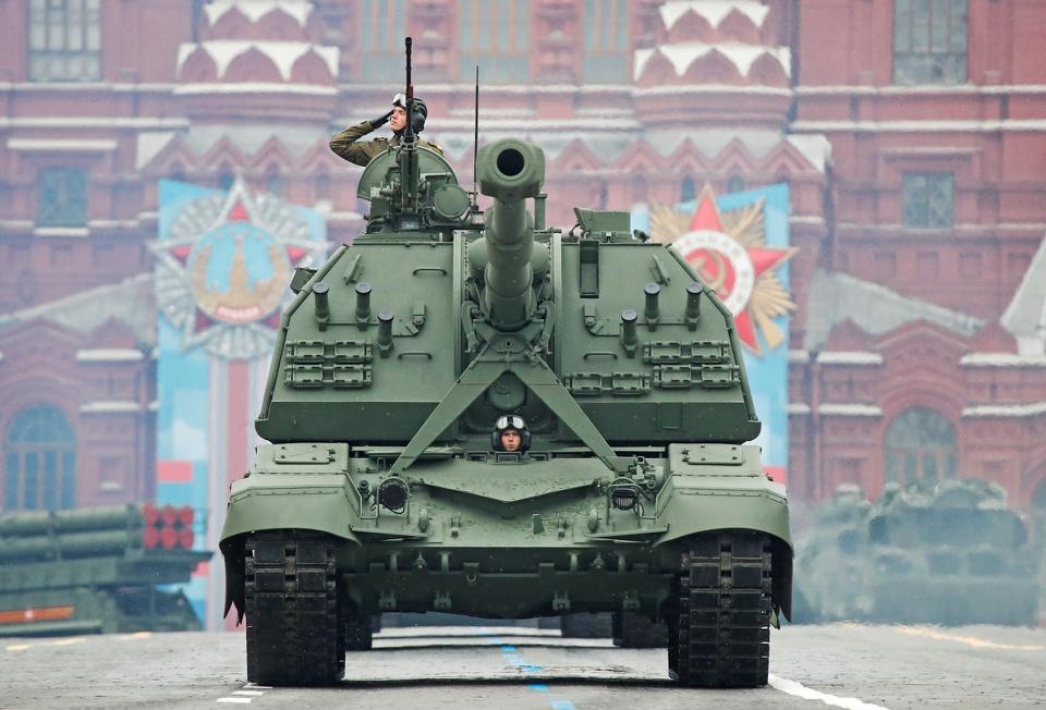 Chiêm ngưỡng dàn vũ khí hiện đại tại Lễ duyệt binh mừng 76 năm đánh bại phát xít - Ảnh 8.