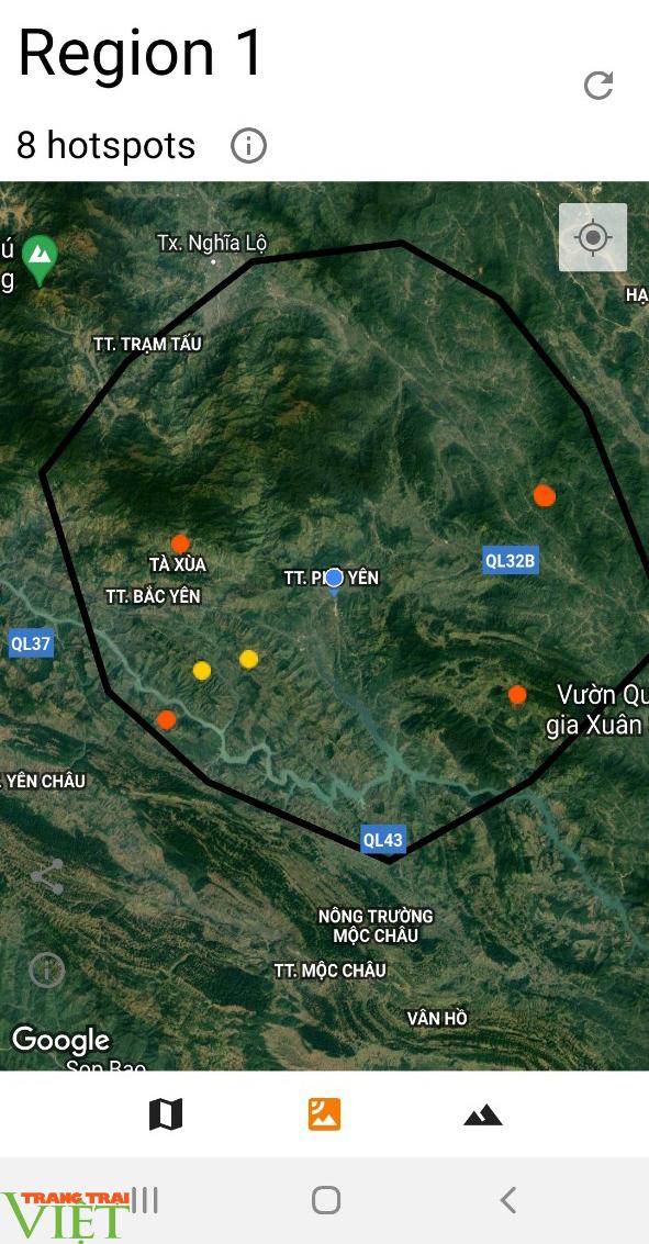 Hạt Kiểm lâm huyện Phù Yên ứng dụng công nghệ 4.0 trong công tác quản lý, bảo vệ và PCCCR - Ảnh 2.