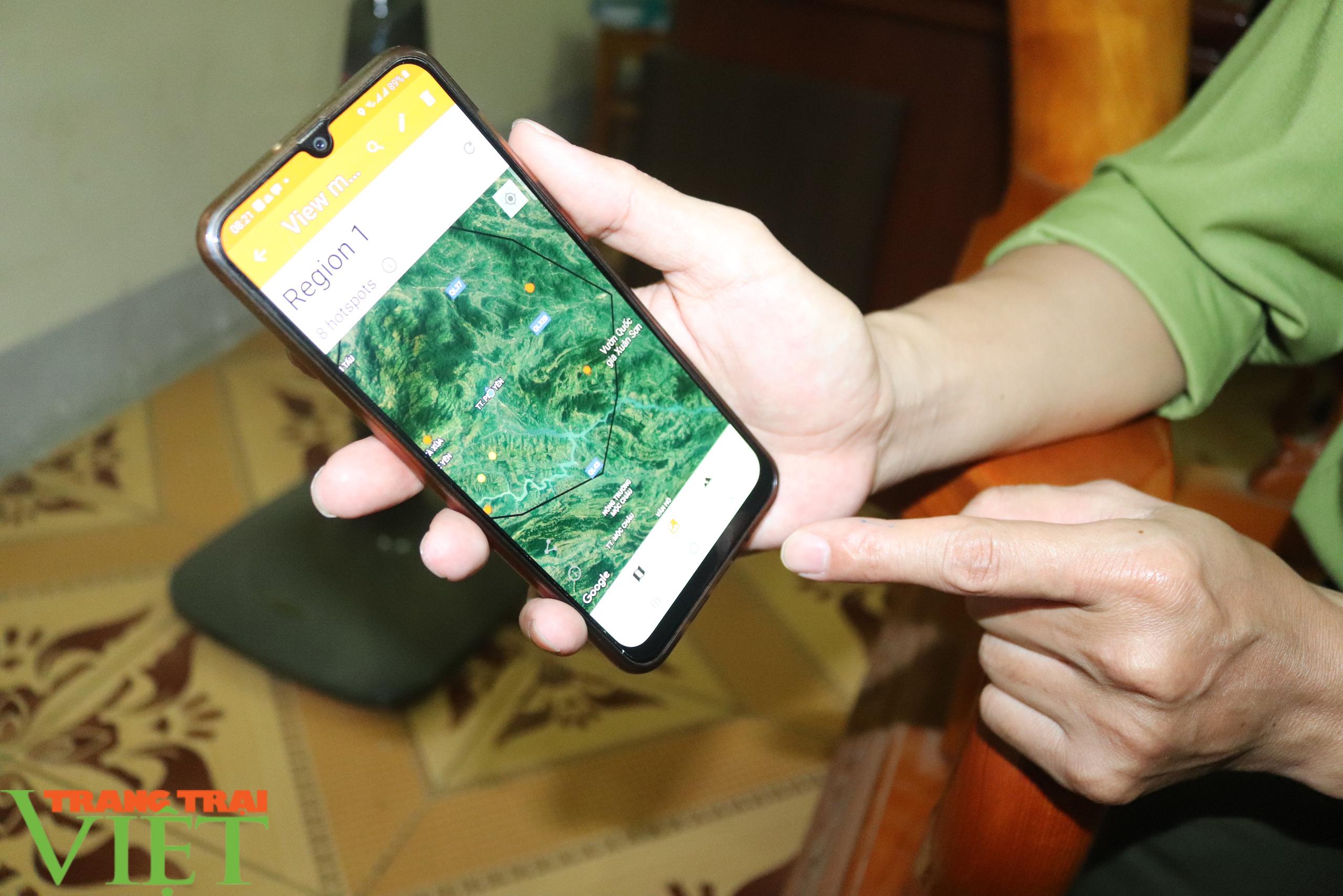 Hạt Kiểm lâm huyện Phù Yên ứng dụng công nghệ 4.0 trong công tác quản lý, bảo vệ và PCCCR - Ảnh 5.