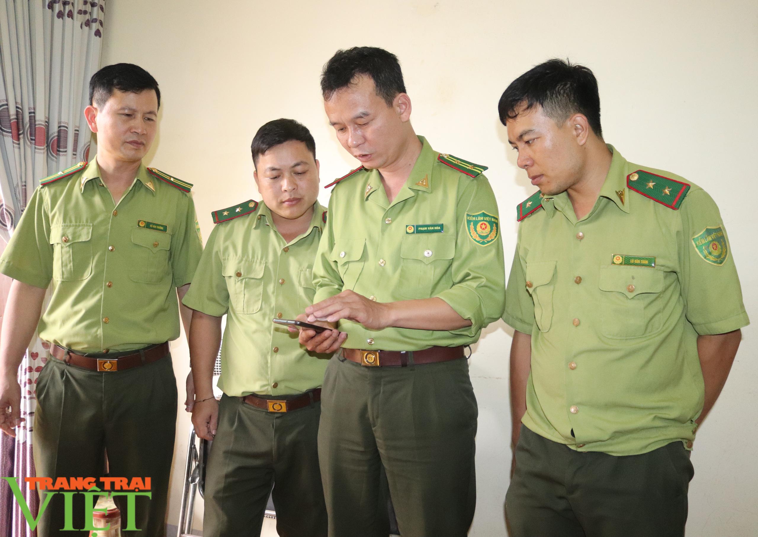 Hạt Kiểm lâm huyện Phù Yên ứng dụng công nghệ 4.0 trong công tác quản lý, bảo vệ và PCCCR - Ảnh 6.