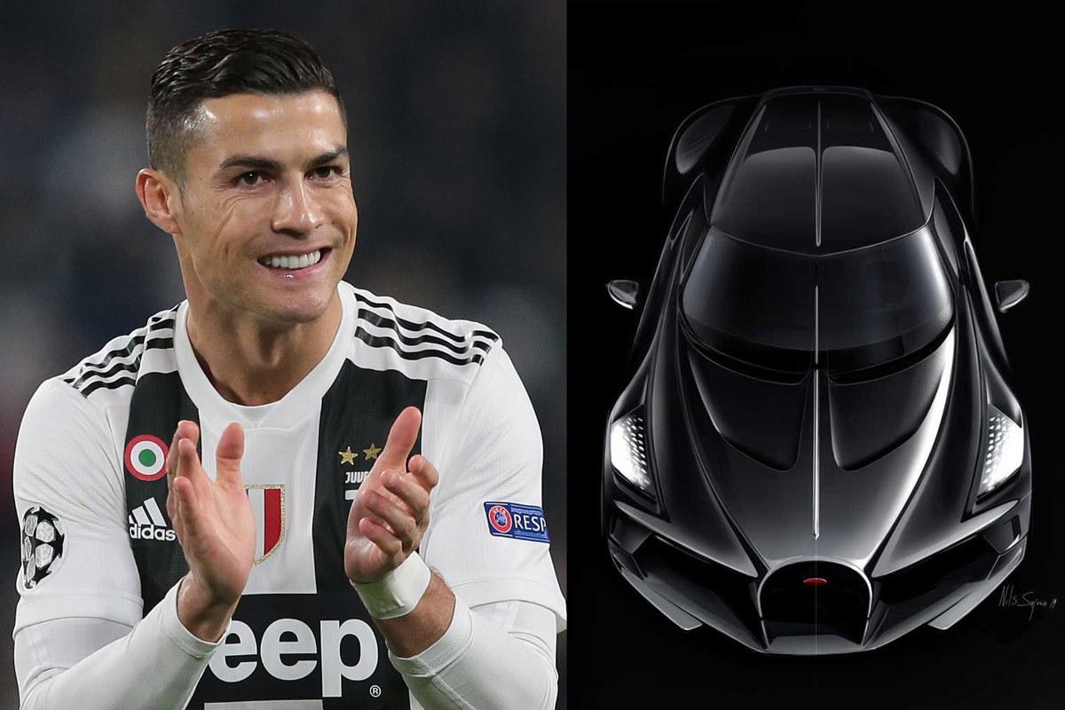 Siêu xe Bugatti đắt đỏ nhất thế giới, vận tốc vô đối, Cristiano Ronaldo sở hữu - Ảnh 1.
