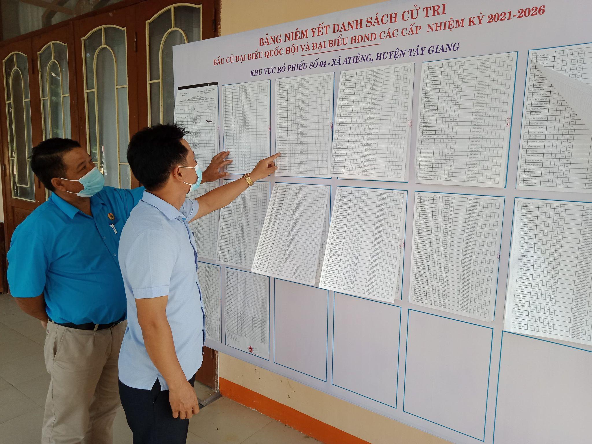 Quảng Nam: Huyện biên giới Tây Giang đẩy mạnh công tác tuyên truyền cho ngày bầu cử - Ảnh 1.