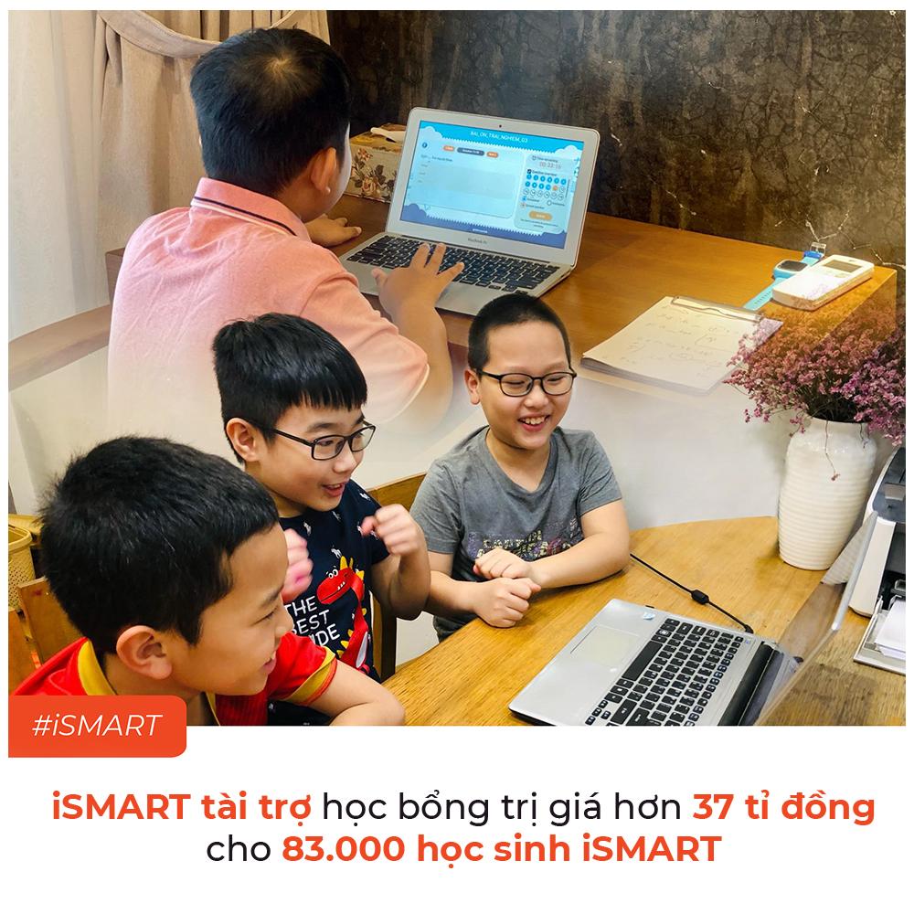 Chung tay chống dịch, iSMART tài trợ hơn 37 tỷ đồng học bổng cho học sinh toàn quốc - Ảnh 1.