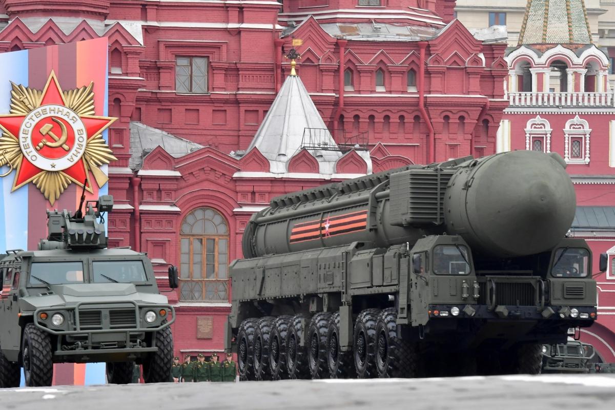 Ảnh: Cùng nhìn lại dàn vũ khí hùng mạnh của Nga tại lễ duyệt binh ngày chiến thắng phát xít - Ảnh 4.
