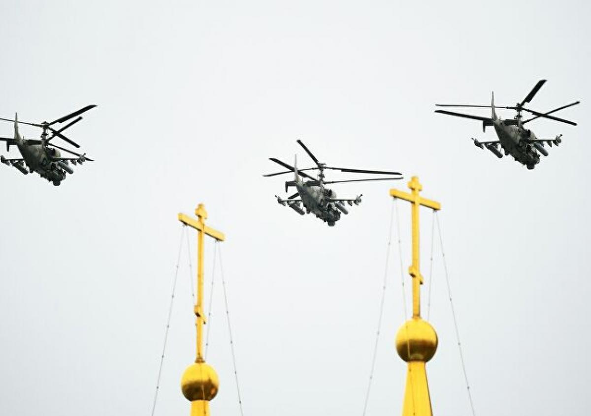 Ảnh: Cùng nhìn lại dàn vũ khí hùng mạnh của Nga tại lễ duyệt binh ngày chiến thắng phát xít - Ảnh 18.