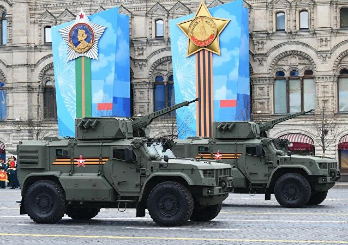 Ảnh: Cùng nhìn lại dàn vũ khí hùng mạnh của Nga tại lễ duyệt binh ngày chiến thắng phát xít - Ảnh 14.