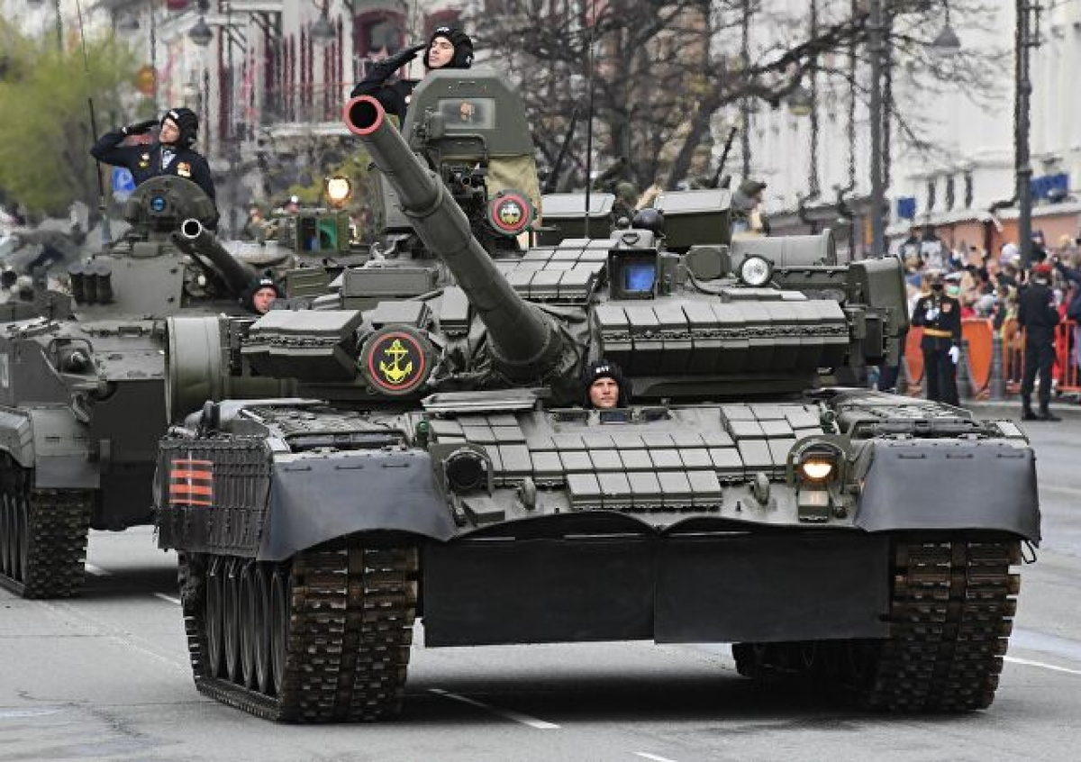 Ảnh: Cùng nhìn lại dàn vũ khí hùng mạnh của Nga tại lễ duyệt binh ngày chiến thắng phát xít - Ảnh 8.