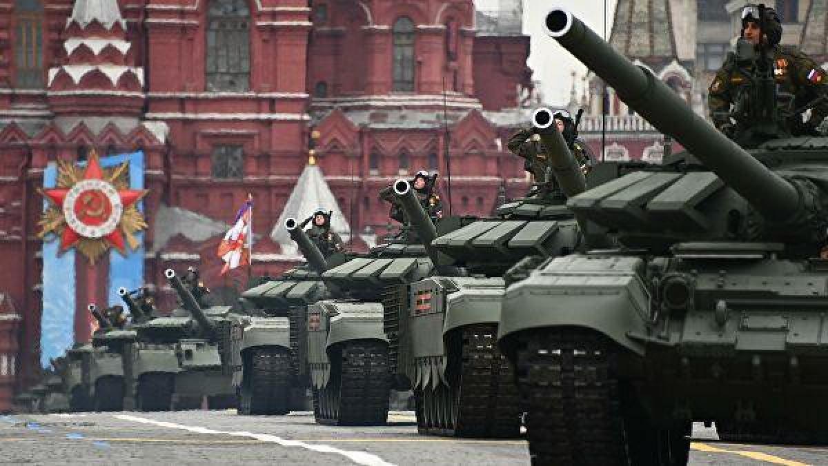 Ảnh: Cùng nhìn lại dàn vũ khí hùng mạnh của Nga tại lễ duyệt binh ngày chiến thắng phát xít - Ảnh 9.