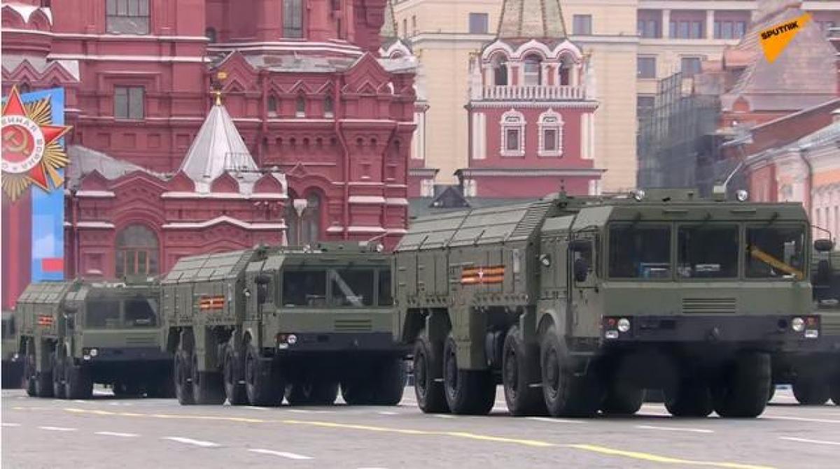 Ảnh: Cùng nhìn lại dàn vũ khí hùng mạnh của Nga tại lễ duyệt binh ngày chiến thắng phát xít - Ảnh 7.