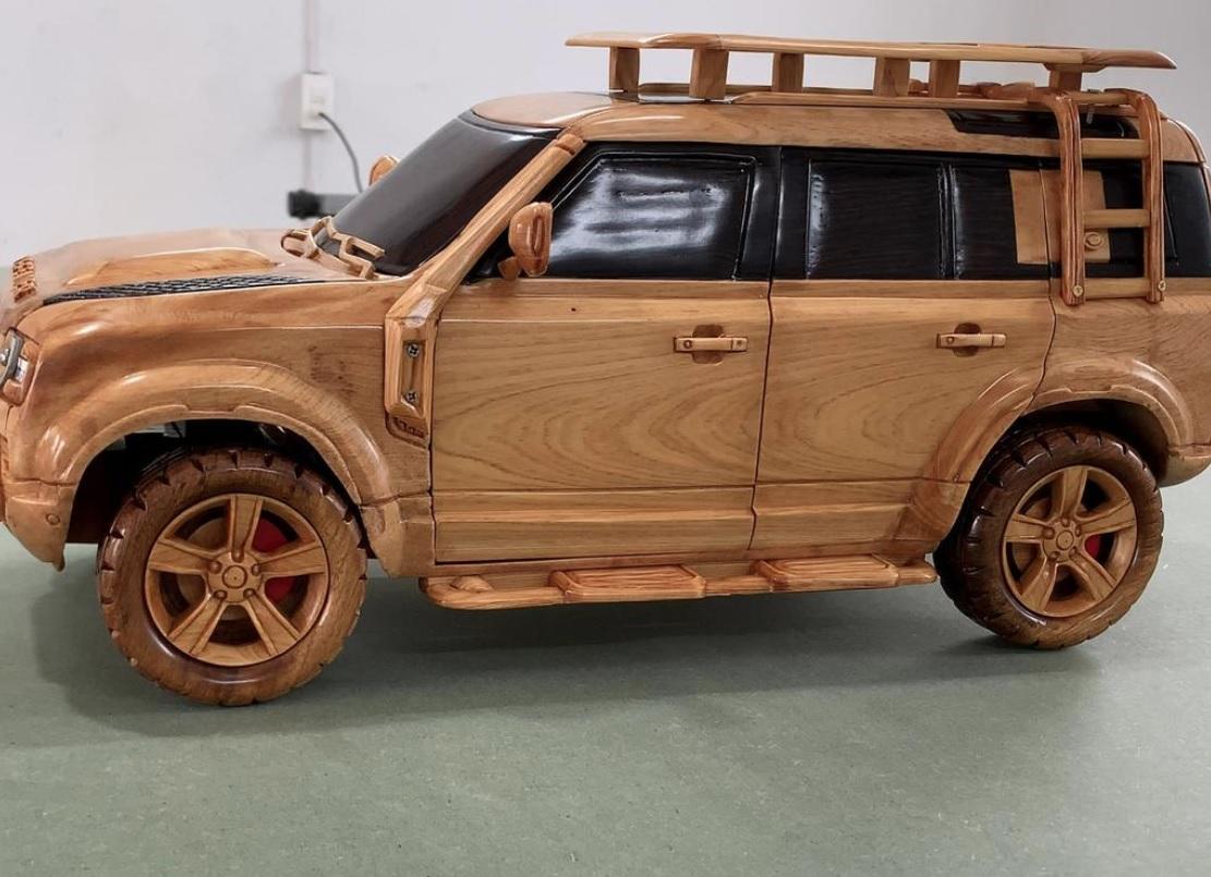 Ảnh: @Woodworking Art.