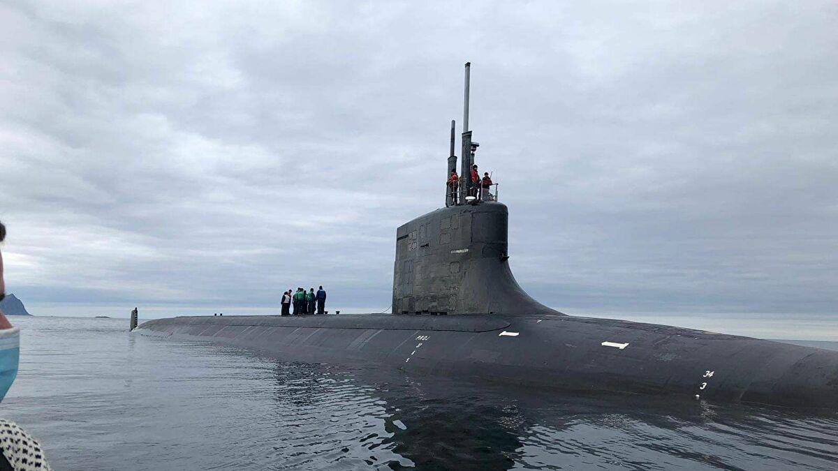 Tàu ngầm hạt nhân Hoa Kỳ bị người dân Na Uy phản đối - Ảnh 1.