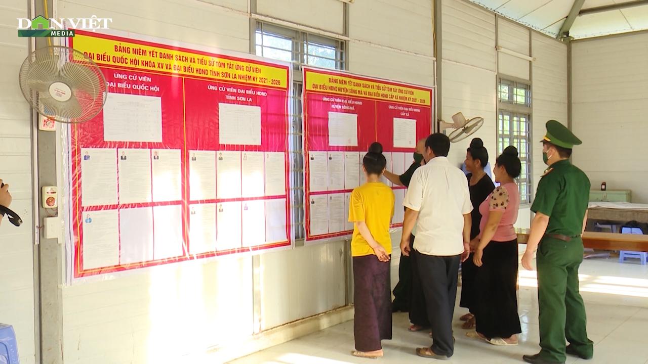 Biên phòng Sơn La: Sáng tạo trong việc tuyên truyền về bầu cử Quốc hội - Ảnh 3.