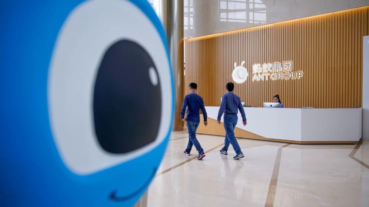 Ant Group của Alibaba tham gia thử nghiệm đồng tệ số của Trung Quốc - Ảnh 1.