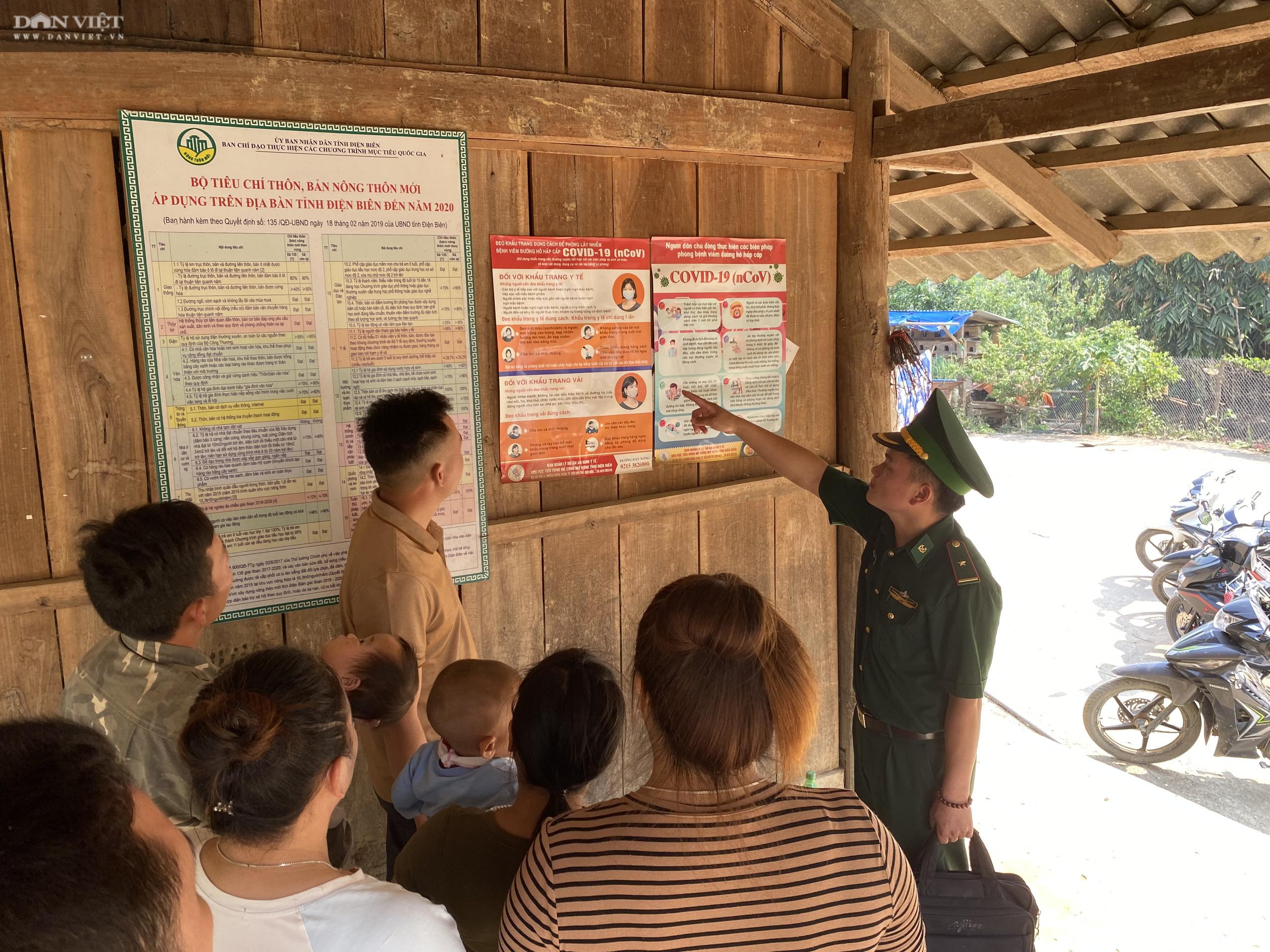 Phòng chống dịch Covid-19 ở Điện Biên: Nhân rộng mô hình tổ giám sát cộng đồng - Ảnh 4.