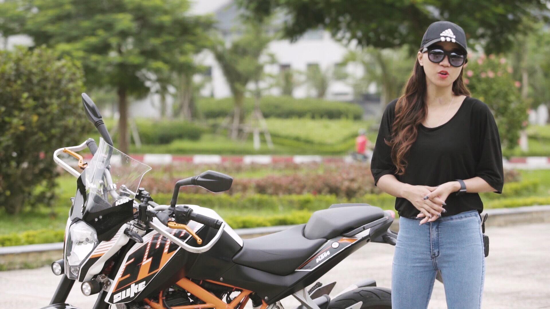 Nữ biker Diễm Trần xinh đẹp hớp hồn cánh mày râu, lại đa tài hiếm có - Ảnh 8.