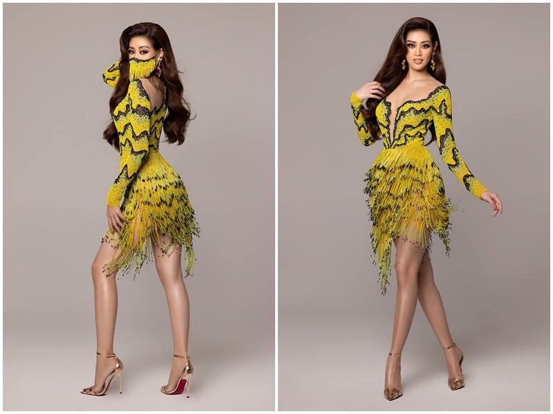 Hoa hậu Khánh Vân diện trang phục ruộng bậc thang cực độc đáo, thu hút sự chú ý của dân tình - Ảnh 4.