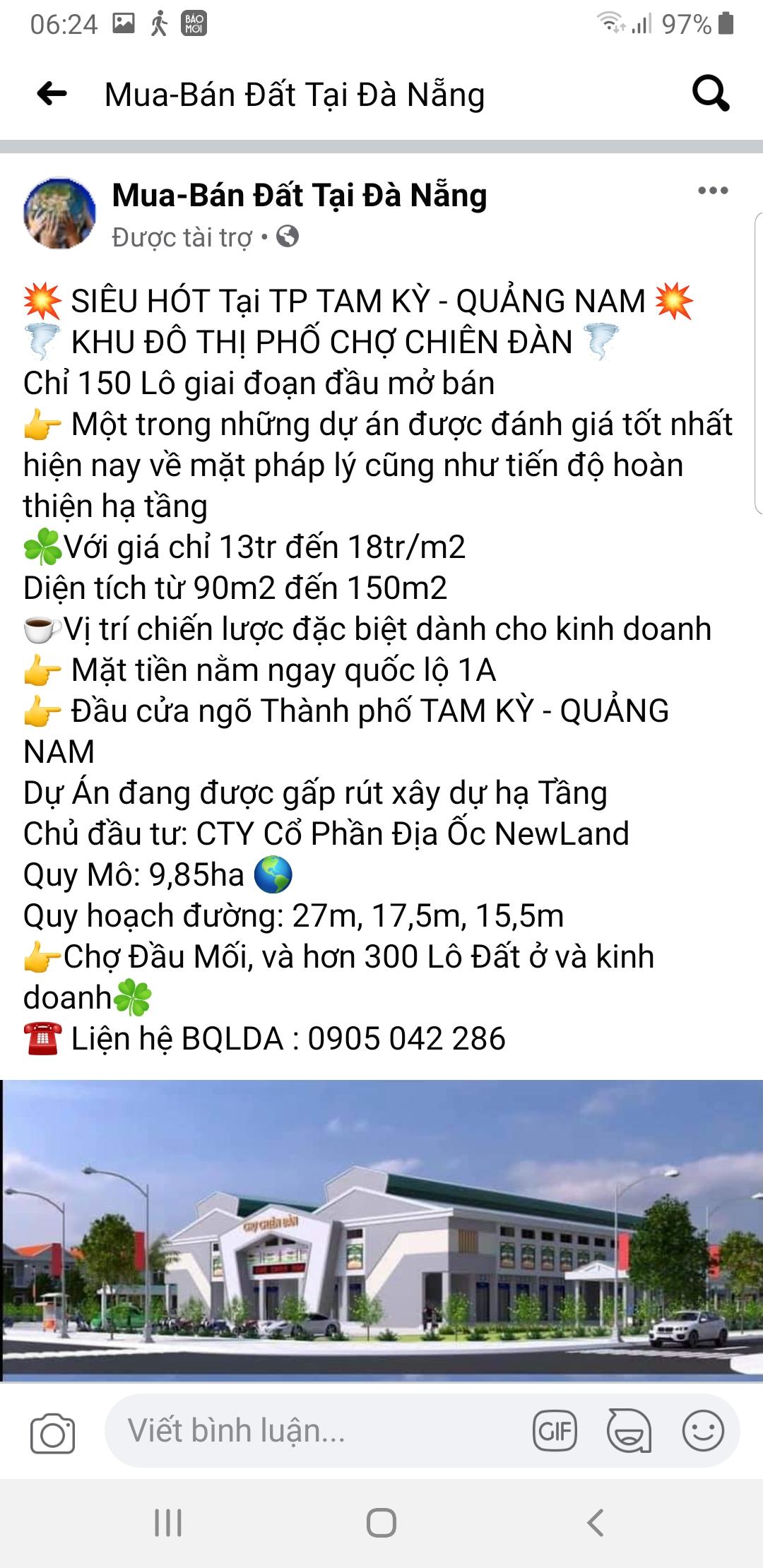 """Quảng Nam: Dự án KPC Chiên Đàn chưa đủ điều kiện nhưng rao bán rầm rộ, chính quyền ra """"văn bản khẩn"""" để cảnh báo - Ảnh 2."""