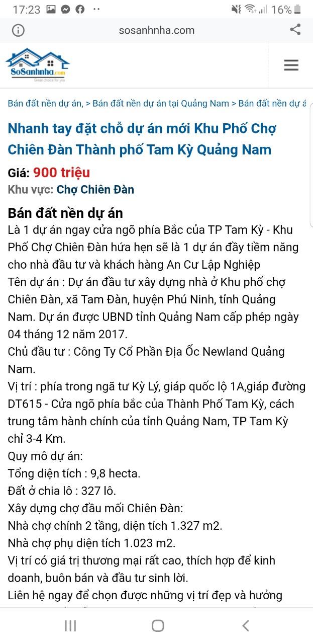 """Quảng Nam: Dự án KPC Chiên Đàn chưa đủ điều kiện nhưng rao bán rầm rộ, chính quyền ra """"văn bản khẩn"""" để cảnh báo - Ảnh 3."""