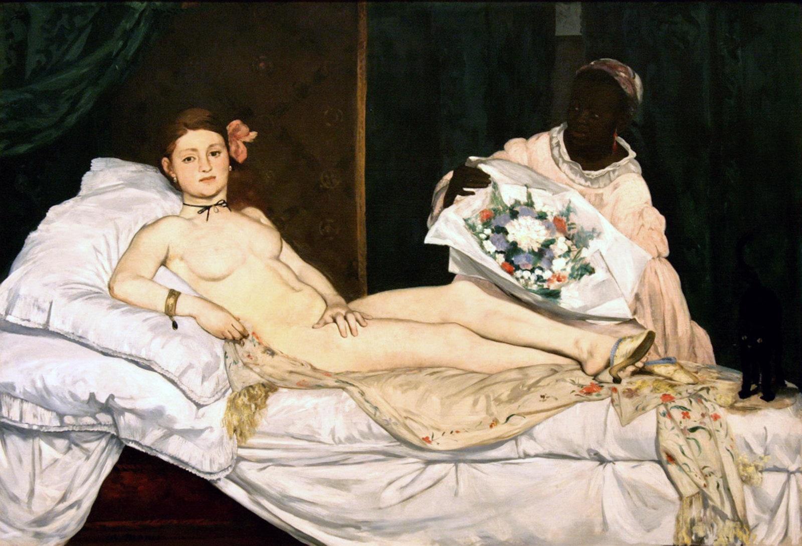 Kiệt tác cô gái khỏa thân quyến rũ trên giường vừa thiêu đốt ánh nhìn vừa gây choáng váng người xem - Ảnh 1.