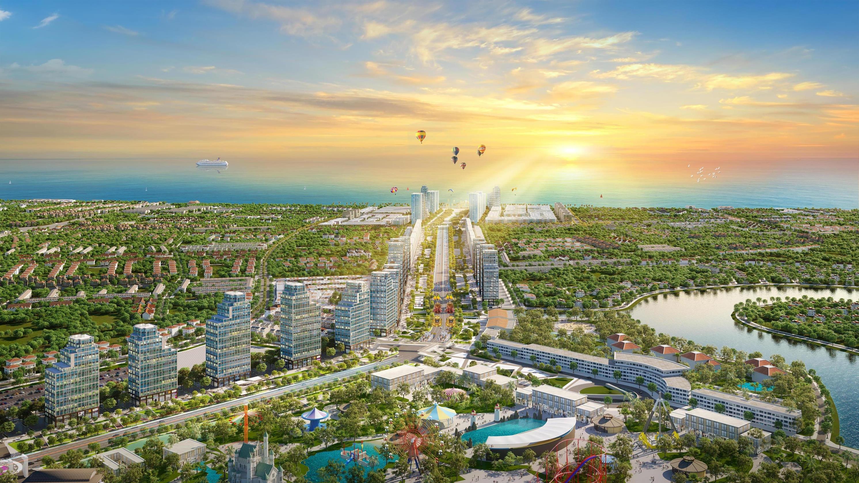 Sun Group ra mắt Khu đô thị Quảng trường biển Sun Grand Boulevard tại Sầm Sơn - Ảnh 3.