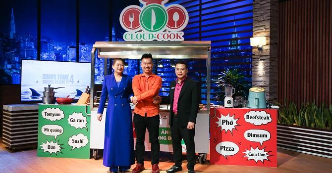 Bếp trên mây Cloud Cook nhận vốn Shark Bình và Shark Liên - Ảnh 2.