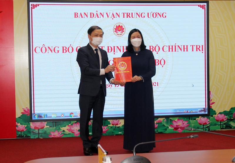 Bộ Chính trị điều động ĐBQH Phạm Tất Thắng làm Phó Trưởng Ban Dân vận Trung ương - Ảnh 1.