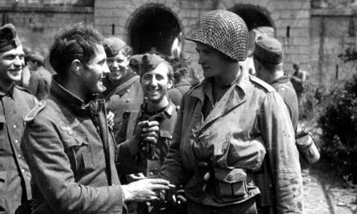 Trận chiến kỳ lạ nhất giữa lính Mỹ và Đức trong Thế chiến II - Ảnh 2.