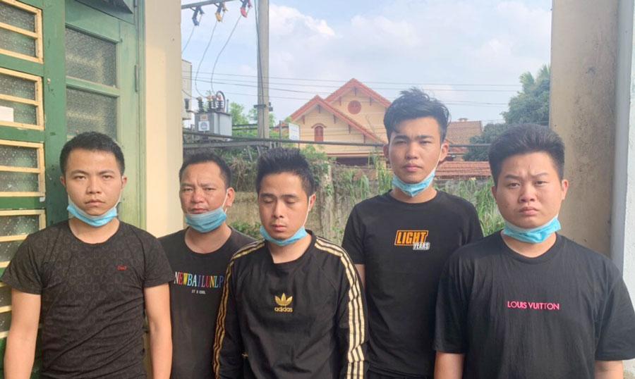 Thái Nguyên khởi tố 2 đối tượng tổ chức cho 5 người Trung Quốc nhập cảnh trái phép - Ảnh 1.