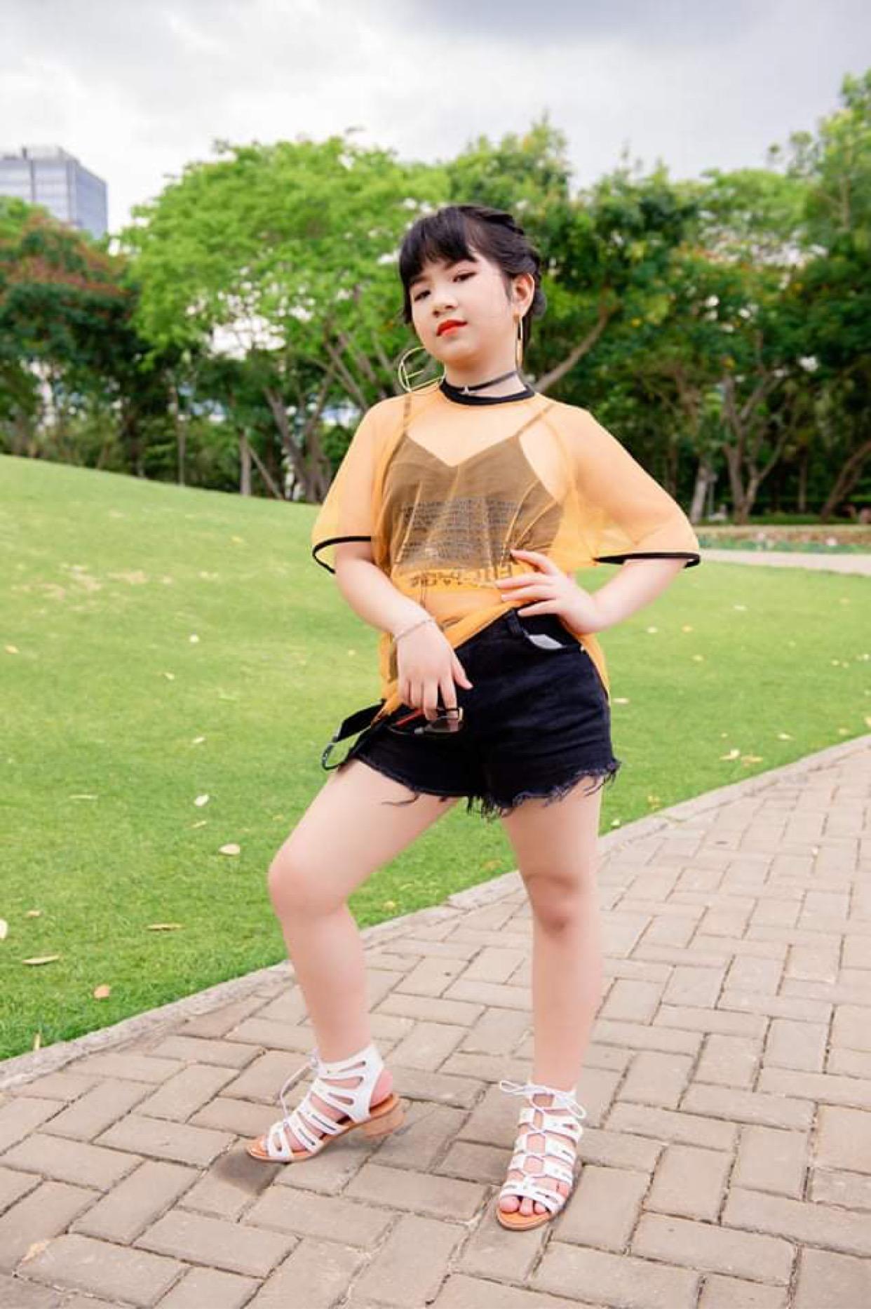 Những bạn nhỏ đáng yêu trong làng thời trang Việt - Ảnh 5.